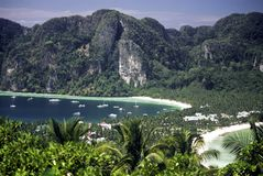 Ko Phi-Phi Don, Thailand Lizenzfreies Stockbild