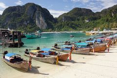 Ko phi phi island Royalty Free Stock Image