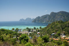 Ko phi phi island in thailand Stock Image
