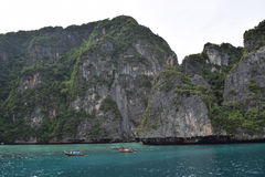 Ko Phi Phi Lee in Andaman sea, Thailand Royalty Free Stock Images