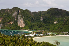 Ko Phi Phi Panoramic Stock Photo