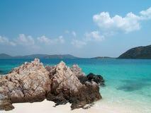 Ko plaża Kham Zdjęcie Stock