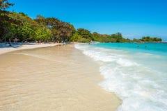 Ko Samet, Ταϊλάνδη - παραλία AO Wai Στοκ Εικόνες