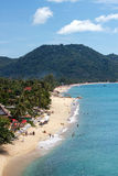 Ko samui beach. Long beach at the morning Stock Photos