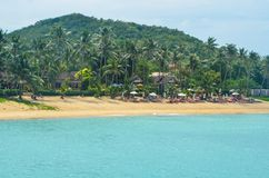 Ko Samui in The Golf of Thailand, Thailand stock photo