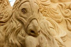 Koń - Sandart obraz stock