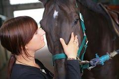 Końska jazda Zdjęcie Stock