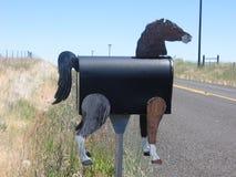 Końska skrzynka pocztowa Obrazy Stock