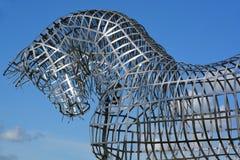 Końska statua Obraz Royalty Free