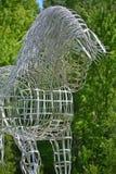 Końska statua Zdjęcia Stock