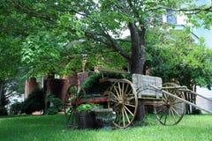 Koński i Zapluskwiony furgon Zdjęcie Royalty Free