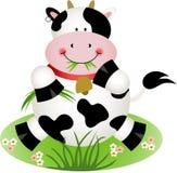 Ko som äter gräs Royaltyfri Fotografi