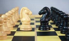 koń szachowy 2 Zdjęcia Stock