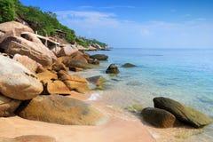 Ko Tao Beach Royaltyfria Bilder