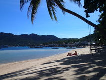 Ko Tao Beach Life Photo libre de droits