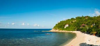 Ko Tao beach panorama royalty free stock photo