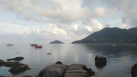 Ko Tao Island i Thailand Royaltyfri Fotografi