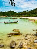 Ko Tao Shark Bay stock fotografie