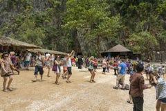 Остров Жамес Бонд (Ko Tapu), Таиланд Стоковое Изображение