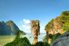 Ko Tapu island Royalty Free Stock Photo