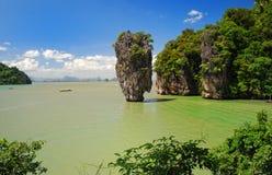 Ko tapu island in thailand Stock Image