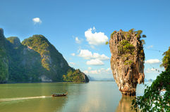 Ko Tapu island in Thailand Stock Photography