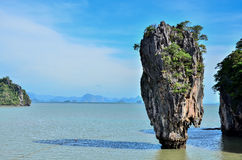 Ko Tapu Island in Thailand Royalty Free Stock Photo