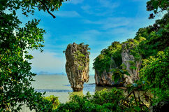 Ko Tapu Island in Thailand Royalty Free Stock Image