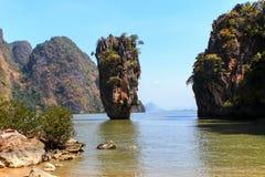 Ko Tapu lub James Bond wyspa Zdjęcie Royalty Free