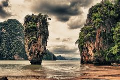 Ko Tapu, Thailand Stock Photo
