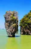 Ko Tapu, Thailand. Ko Tapu, James Bond Island, Phang Nga Bay, Thailand, Asien Stock Photography