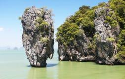 Ko Tapu, Thailand. Ko Tapu, James Bond Island, Phang Nga Bay, Thailand, Asien Royalty Free Stock Photography
