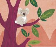 Koala illustration stock