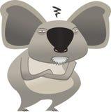 Koala Bear. Illustration of an angry Koala Bear Stock Photos