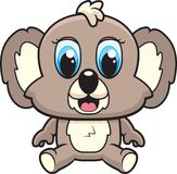 Koala do bebê ilustração do vetor