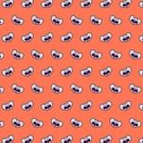 Koala - emoji pattern 16. Pattern of a emoji koala that can be used as a background, texture, prints or something else royalty free illustration