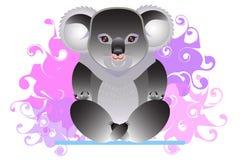 Koala engaged in yoga Stock Photo
