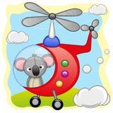 Koala in helicopter Stock Photos