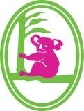 Koala Logo Royalty Free Stock Photo
