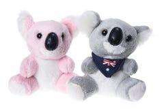Koala macio do brinquedo fotografia de stock royalty free