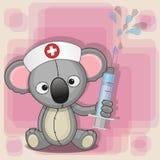 Koala nurse Royalty Free Stock Photography