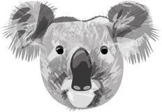 Koala. Rare animal, endemic from Australia vector illustration