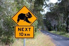 Koala sign Stock Photography