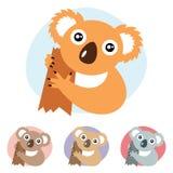 Koala. Vector illustration of koala bear Stock Photos