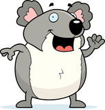 Koala Waving Stock Photo