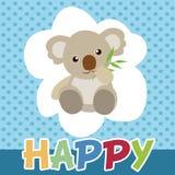 Koalas cute smile and happy. Stock Photo
