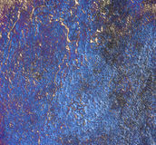 Kobalt blue texture. Computer generated kobalt blue backgrount with textures stock illustration