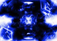 Kobaltachtergrond Stock Afbeelding