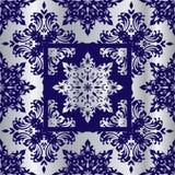 kobaltu reflief srebro Obrazy Royalty Free