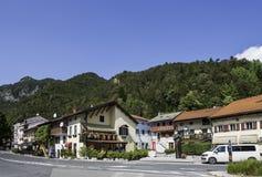 Kobarid. Slovenia - August 08, 2017: Small village , starting point for Soca rafting, Goriska Brda, Slovenia Stock Photo